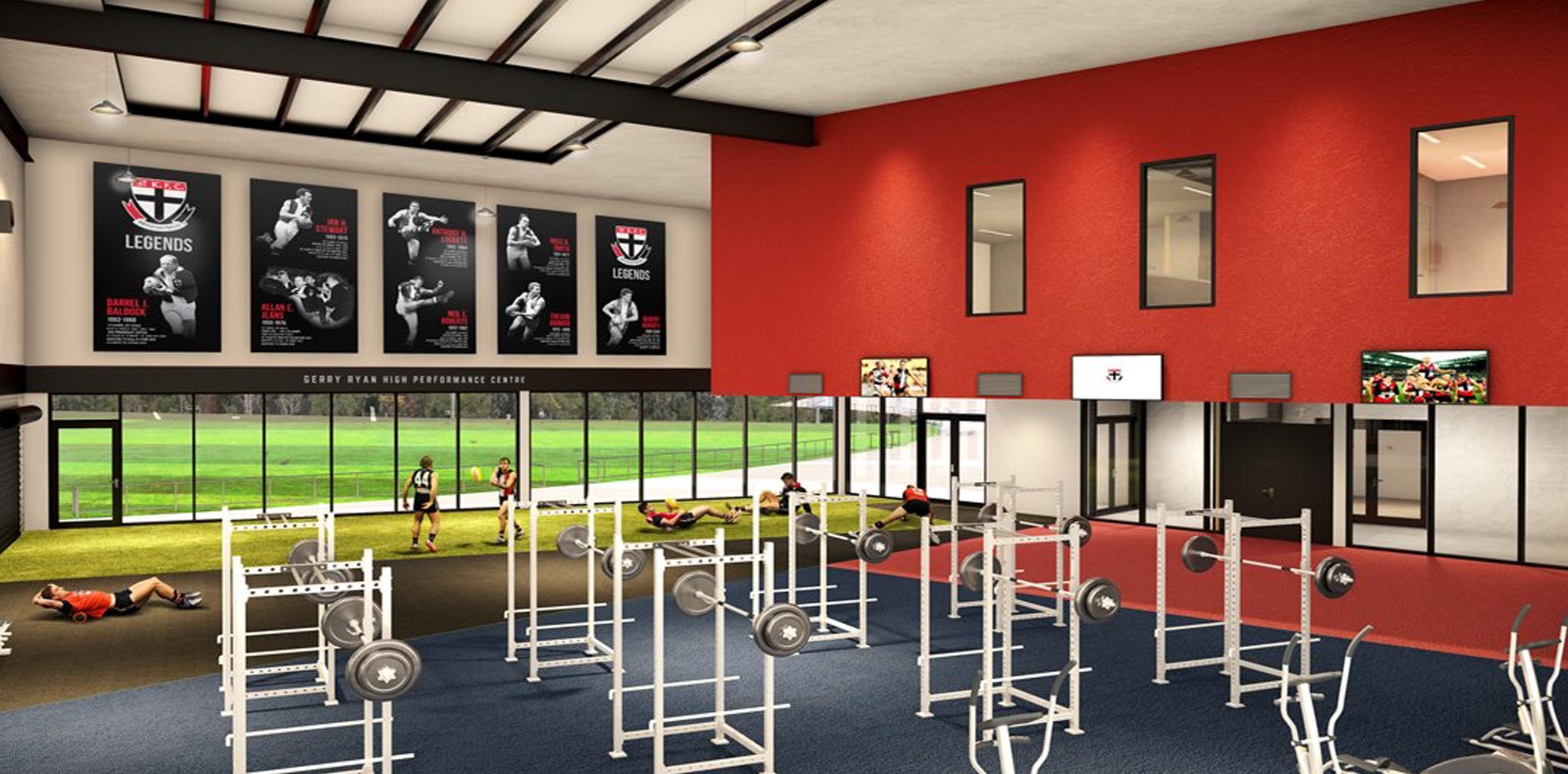 St Kilda Football Club Moorabbin Reserve